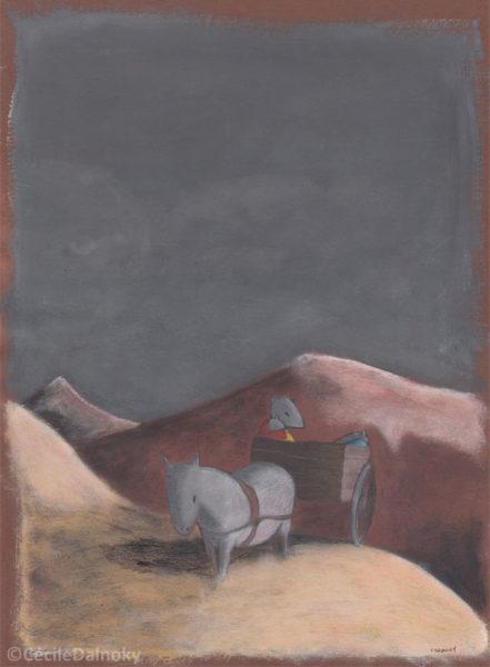 Cecile Dalnoky - Dessin